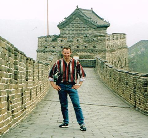 Richard at Great Wall