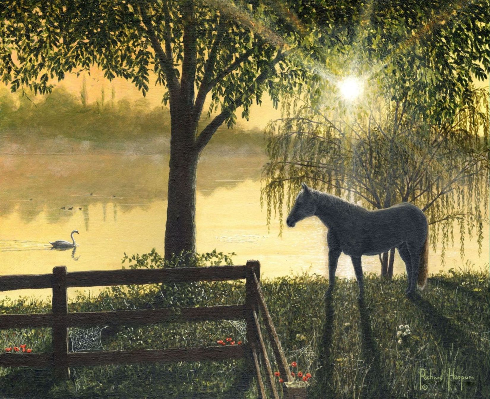 Painting - Hoss - Horse in Georgia