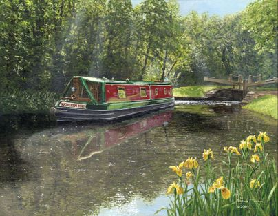 Kathleen May, Chesterfield Canal, Nottinghamshire