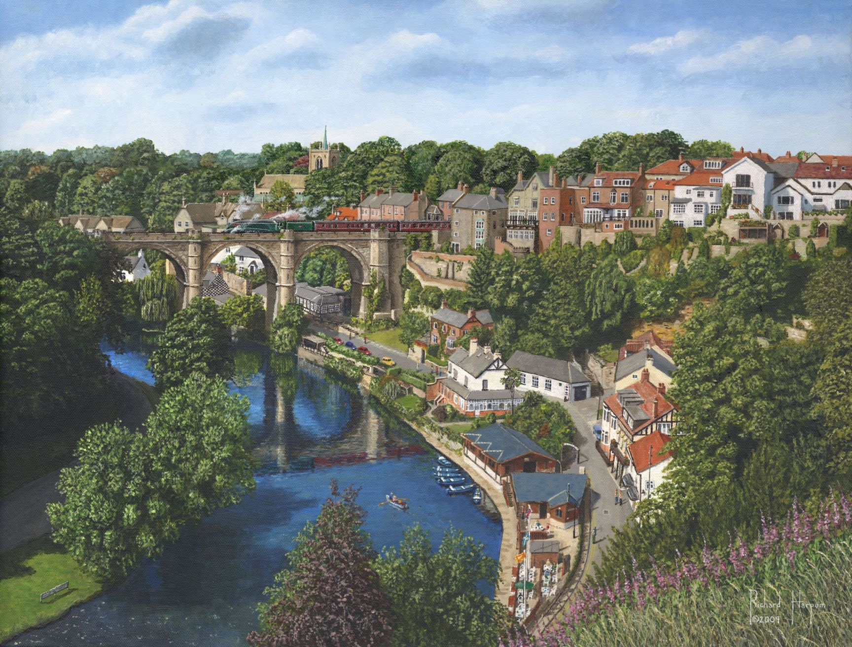 Painting - Knaresborough, Yorkshire