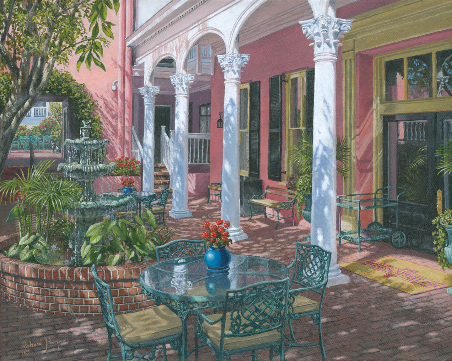 Painting - Meeting Street Inn, Charleston