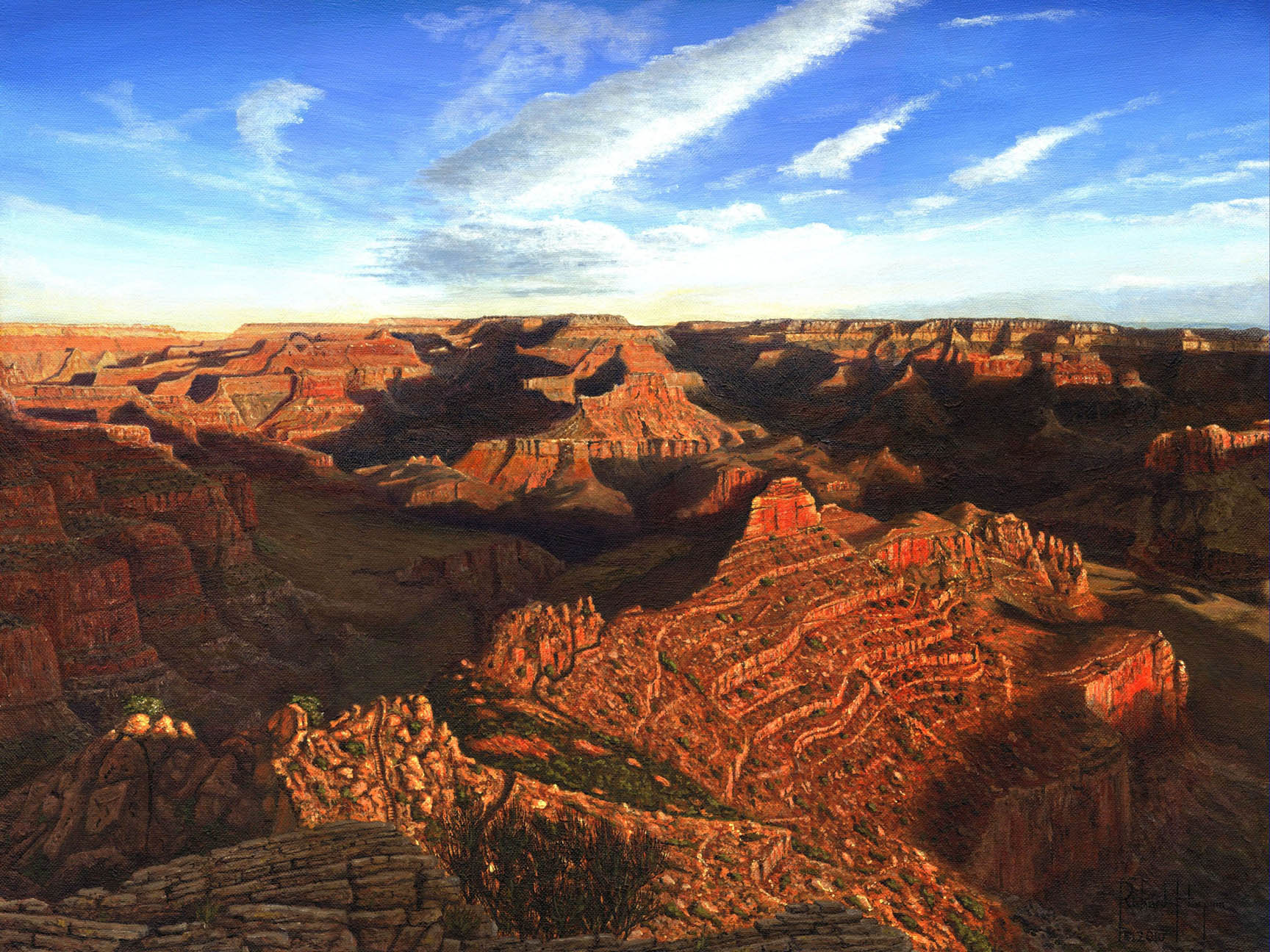 Painting - Morning Glory – The Grand Canyon from South Kaibab Trail