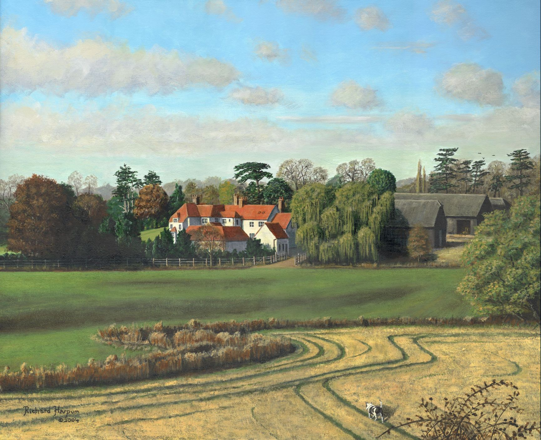 Painting - Sheering Hall, Near Harlow, Essex