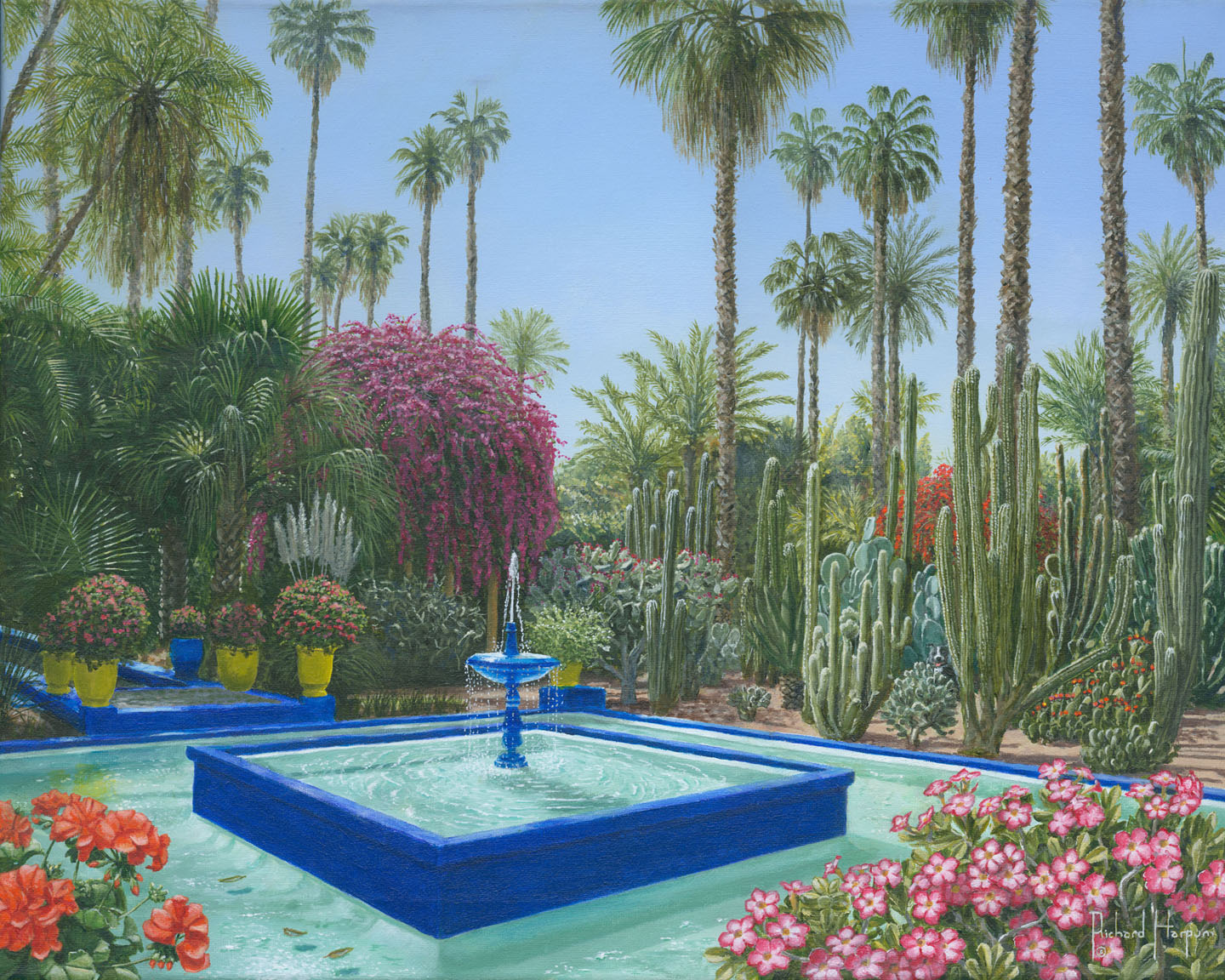 Morocco majorelle garden check out morocco majorelle for Cafe le jardin marrakech